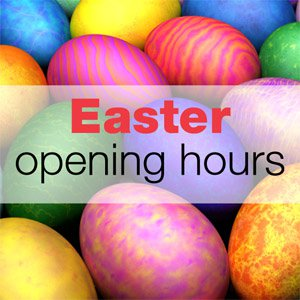 Warmmead's Easter Opening Hours