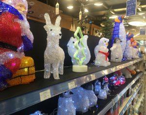 Our range of Christmas acrylic figures